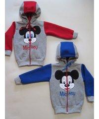 Куртка  Дисней трехниточный начес вышивка NCL225