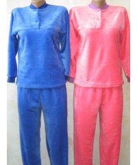 Пижама женская махра рваная NCL345