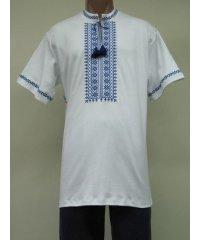 Рубашка мужская вышивка интерлок NCL621