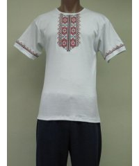 Футболка мужская вышивка интерлок NCL615