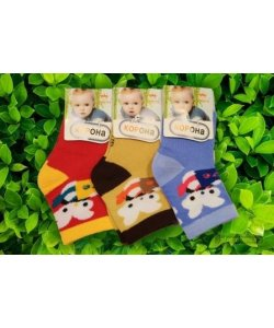 "Шкарпетки для малышей "" Корона "",Зайка"