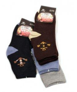 """Махровые Шкарпетки на мальчика """" Корона """" Маквин"""