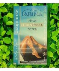 """Шкарпетки женские """"Lady Sabina"""" 20 den сетка"""