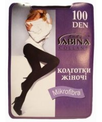 """Lady Sabina"" 100 den Antracite, колготки женские"