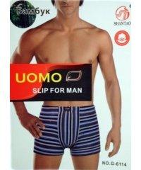 """UOMO """"G-6114"""" бамбук ,Боксери мужские"""
