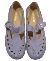 "Мокасины летние "" Zojas Shoes "" А-822 Purple оптом"