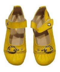 """Мокасины летние """" Zojas Shoes """" 20918 Yellow оптом"""