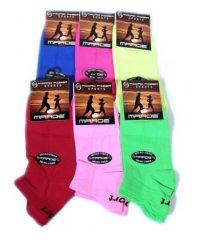 """Низкие женские Шкарпетки микрофибра """" Marde """" микс"""