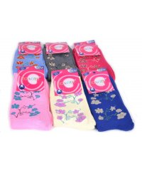 "Шкарпетки женские, махра ""Золото"" Цветы"